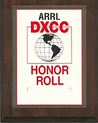 ARRL DXCC Honor Roll